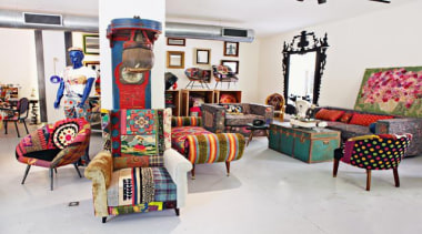 These exuberant pieces of furniture are the fruits chair, furniture, interior design, living room, table, textile, white