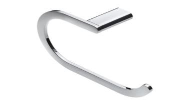 LOFT Towel Stirrup - LOFT Towel Stirrup - body jewelry, product design, silver, white