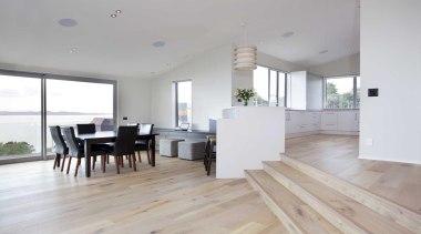 Interior design by Yellowfox - Interior - apartment apartment, floor, flooring, hardwood, house, interior design, laminate flooring, living room, property, real estate, wood, wood flooring, gray, white