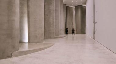 The Len Lye Centre 05 - The Len architecture, concrete, floor, structure, tourist attraction, wall, gray