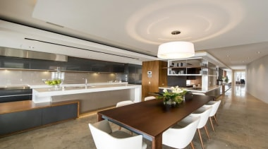 TIDA Australian Architect-Designed New Home - Highly Commended ceiling, countertop, interior design, kitchen, real estate, gray, brown