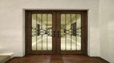 114goodlands 214 - Goodlands_214 - door | gate door, gate, glass, iron, window, gray, brown