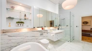 Winner Bathoom of the Year 2013 South Australia bathroom, countertop, estate, floor, home, interior design, kitchen, property, real estate, room, sink, white, gray