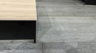 Concreate GKC CF101 7 - Concreate_GKC_CF101_7 - angle angle, floor, flooring, line, table, tile, wall, wood, wood stain, gray