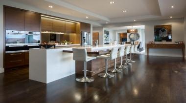 Kohi7 - countertop | floor | flooring | countertop, floor, flooring, hardwood, interior design, kitchen, real estate, room, wood flooring, gray, black