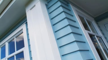 Axent Trim - building | daylighting | facade building, daylighting, facade, home, house, siding, structure, window, teal