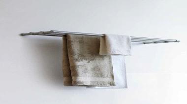 PB775 - Towel Rack Shelf. Satin Stainless Steel product design, white