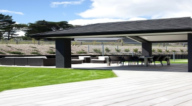 For more information, please visit www.gjgardner.co.nz architecture, outdoor furniture, outdoor structure, pavilion, walkway, white