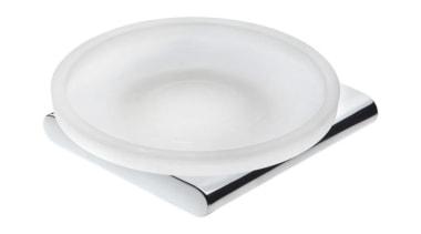 LOFT Wall Mounted Soap Dish - LOFT Wall product design, tableware, white