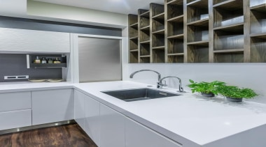 Sleek Kitchen - Sleek Kitchen - countertop | countertop, interior design, kitchen, gray