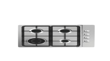 60cm Gas Cooktop4 Burners, Stainless steel cooktop, Automatic cooktop, product, product design, white