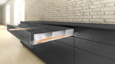 LEGRABOX pure - Box System - coffee table coffee table, countertop, floor, flooring, furniture, product design, table, gray, black