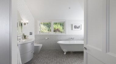 See more from Du Bois Design architecture, bathroom, floor, home, house, interior design, plumbing fixture, property, real estate, room, sink, window, gray