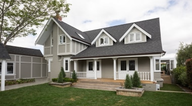 Exterior - building | cottage | elevation | building, cottage, elevation, estate, facade, farmhouse, home, house, neighbourhood, porch, property, real estate, residential area, roof, siding, suburb, window, white
