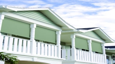 fabric awning - fabric awning - architecture | architecture, building, cottage, elevation, facade, home, house, porch, property, real estate, residential area, roof, siding, structure, window, white, green