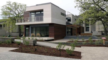 Warmboard provides and eco friendly, quiet and efficient architecture, building, courtyard, elevation, estate, facade, home, house, mixed use, neighbourhood, property, real estate, residential area, gray, black