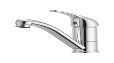 Elegant Promix delivers one-touch convenience for domestic décor hardware, plumbing fixture, product, tap, white