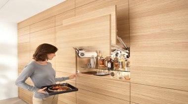 Lift Up System - AVENTOS HL - floor floor, flooring, interior design, wood, orange