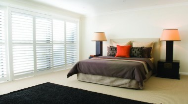 luxaflex newstyle polyresin shutters - luxaflex newstyle polyresin bed frame, bedroom, ceiling, floor, home, interior design, property, real estate, room, wall, window, window covering, window treatment, wood, white