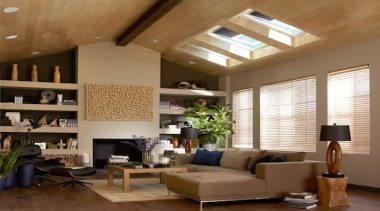 pglint05657 copy.jpg - pglint05657_copy.jpg - ceiling | daylighting ceiling, daylighting, home, interior design, living room, room, wall, window, wood, brown