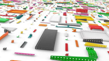 Meccano Home is a new collection from the plastic, product, product design, white