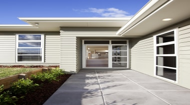Fowler Homes have successfully been designing and building door, estate, facade, home, house, porch, property, real estate, residential area, siding, window, white
