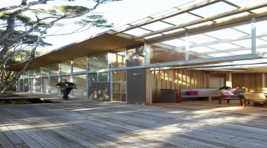 Mangawhai Heads, Northland - Point House - architecture architecture, building, daylighting, house, roof, white, gray