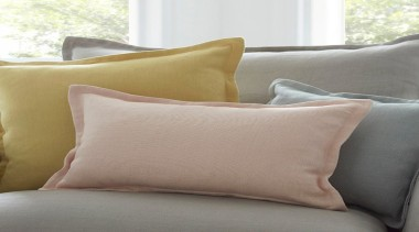 HAVEN takes the new, WARWICK NATURALLY brand to bed, bed sheet, cushion, duvet cover, furniture, linens, pillow, product, textile, throw pillow, gray