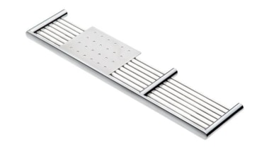 LOFT extended rack with moveable tray - LOFT hardware accessory, line, product design, white