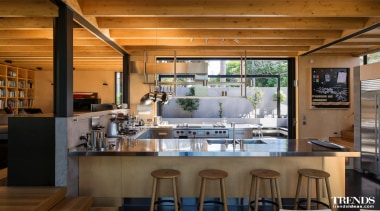 Winner – Architect-designed Kitchen – Proudly brought to countertop, interior design, kitchen, real estate, brown