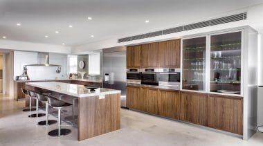 Winner Kitchen of the Year 2013 Western Australia cabinetry, countertop, cuisine classique, interior design, kitchen, gray