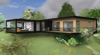 15 turner concept c2 14814untitled path2 - Turner architecture, cottage, elevation, estate, facade, home, house, landscape, property, real estate, green