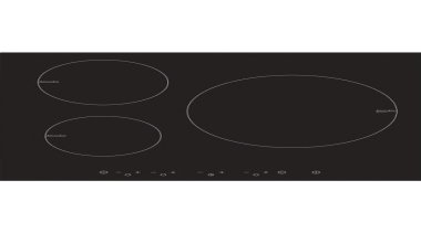 60cm Induction CooktopTimer, Touch control with boost, Pan area, black, circle, cooktop, font, product design, rectangle, black, white