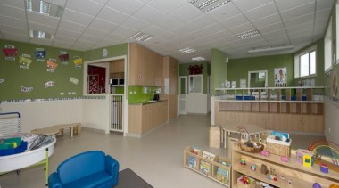 Cumberland Early Education Centre - Cumberland Early Education hospital, institution, interior design, real estate, room, gray, brown