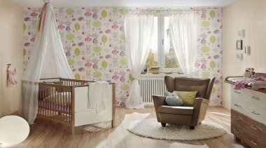 The new Boys and Girls Collection is a bed, bed frame, bed sheet, bedding, bedroom, curtain, decor, floor, home, infant bed, interior design, linens, nursery, product, real estate, room, textile, wall, window, window covering, window treatment, gray