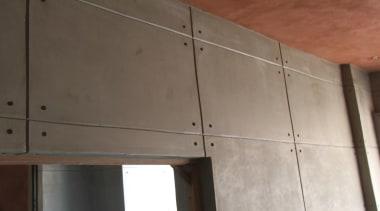 Micro Topping 27 - Micro Topping_27 - ceiling ceiling, daylighting, floor, glass, plywood, wall, wood, gray