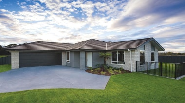 For more information, please visit www.gjgardner.co.nz backyard, cottage, elevation, estate, facade, grass, home, house, landscape, property, real estate, residential area, roof, shed, siding, sky, suburb, yard, gray