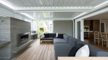 Exterior - architecture | ceiling | daylighting | architecture, ceiling, daylighting, floor, house, interior design, living room, real estate, window, gray