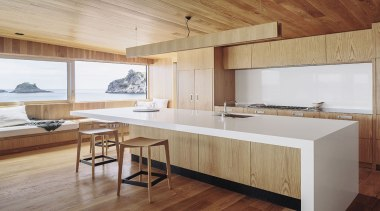 Finalist: TIDA International Kitchen of the YearSee architecture, countertop, floor, furniture, hardwood, house, interior design, kitchen, real estate, table, wood, wood flooring, gray, brown