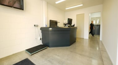 Waikato Veterinary Hospital - Waikato Veterinary Hospital - floor, flooring, interior design, office, property, real estate, orange