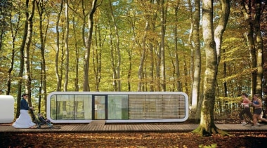 coodo1.jpg - architecture | forest | house | architecture, forest, house, leaf, nature, plant, tree, woodland, brown