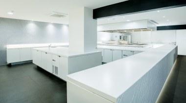 DEKTON ZENITH DaniG - Marbella - 00B - architecture, countertop, floor, interior design, kitchen, product design, white