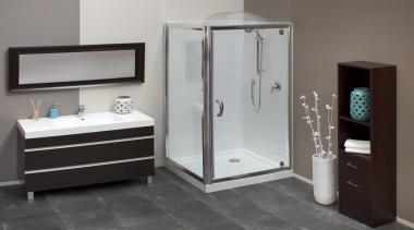 2012 square shower 001.jpg - 2012_square_shower_001.jpg - bathroom bathroom, bathroom accessory, bathroom cabinet, plumbing fixture, product, product design, gray, black