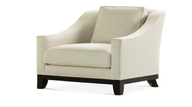 Vintage, antique, and modern pieces creatively express a angle, chair, club chair, furniture, product, product design, white