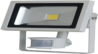 FeaturesThe Foco flood light has a very long hardware, lighting, product, product design, white, gray