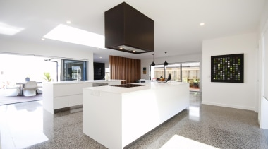 Heart of the home is this stylish yet countertop, house, interior design, kitchen, property, real estate, room, white