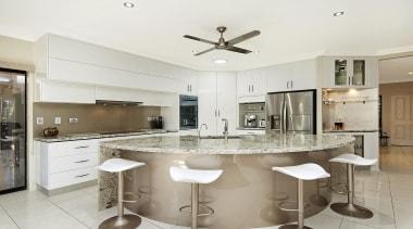 Winner Kitchen Design of the Year 2013 North countertop, cuisine classique, interior design, kitchen, real estate, white, gray