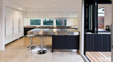 TIDA – Proudly brought to you by Kitchen cabinetry, countertop, floor, furniture, interior design, kitchen, gray