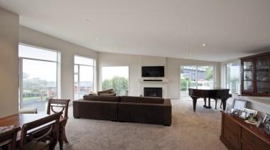 For more information, please visit www.gjgardner.co.nz ceiling, house, interior design, living room, property, real estate, room, window, gray