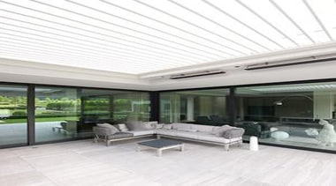 Architectural Series Opening Roof - Architectural Series Opening ceiling, daylighting, floor, interior design, living room, patio, real estate, roof, window, white